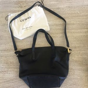 Cuyana small carryall tote bag - black